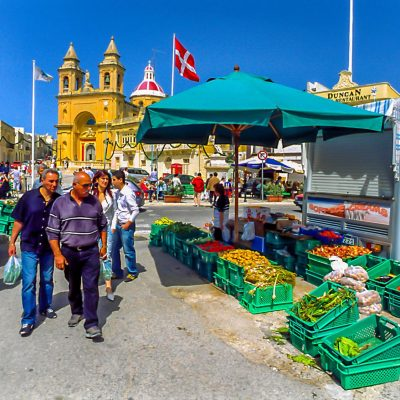 Markttag in Marsaxlokk