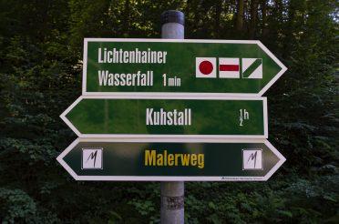 Wir wandern zu ein paar Highlights der sächsischen Schweiz