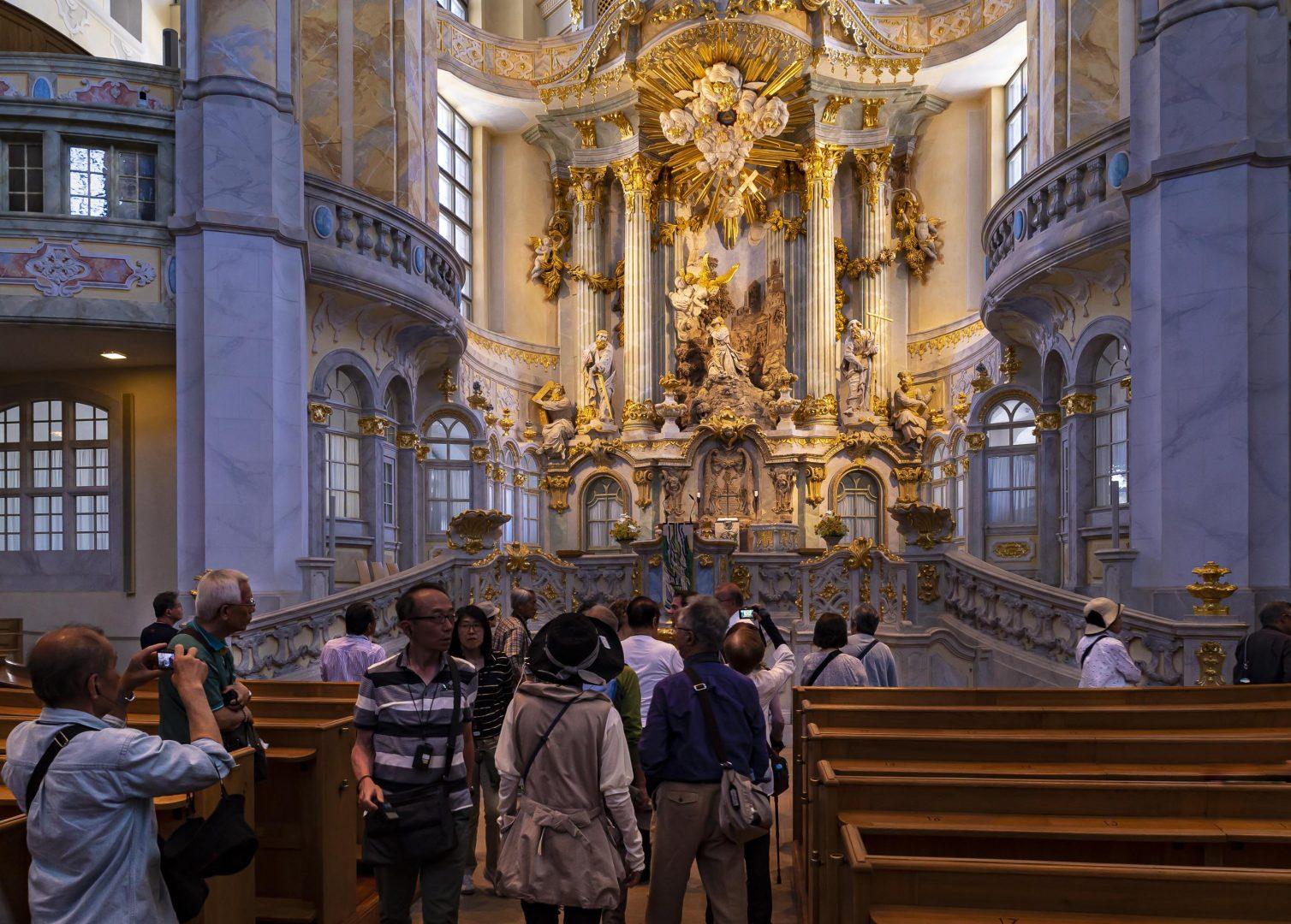 Frauenkirche Dresden innen