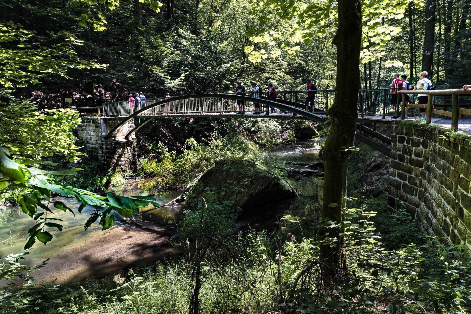 Brücke über die Kamnitz